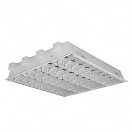 4x18W white louvre